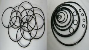 供应耐高温氟橡胶密封件 氟胶O型圈 硅胶O型圈 丁腈橡胶密封圈