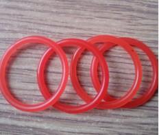红色聚氨酯密封圈O型圈 pu机械密封件 氟胶O型圈